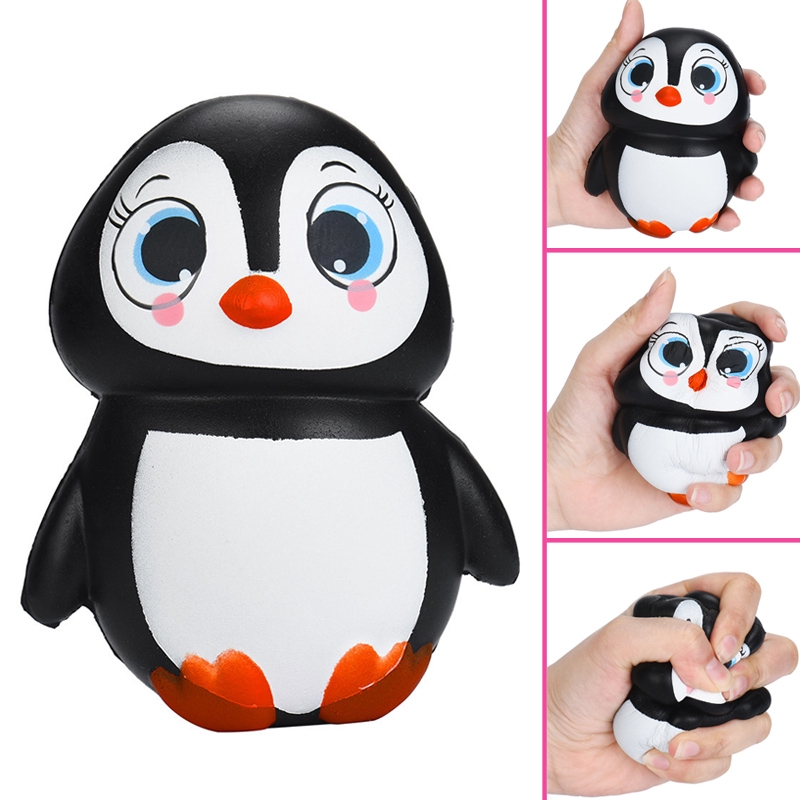 Funny Penguins Squishies Novelty Gag Toys Squishy Stress Relief Anti-stress Gift