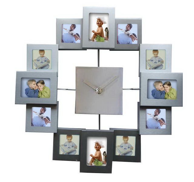 photo frame clock Home Decoration  Fashion Clocks Deco Reloj