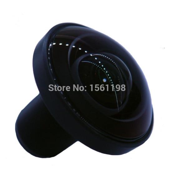 [Factory Direct] 16 Megapixel 1.21mm 220 degree 1/2.33 M12X0.5 fisheye board lens for Gopro Hero Action Camera