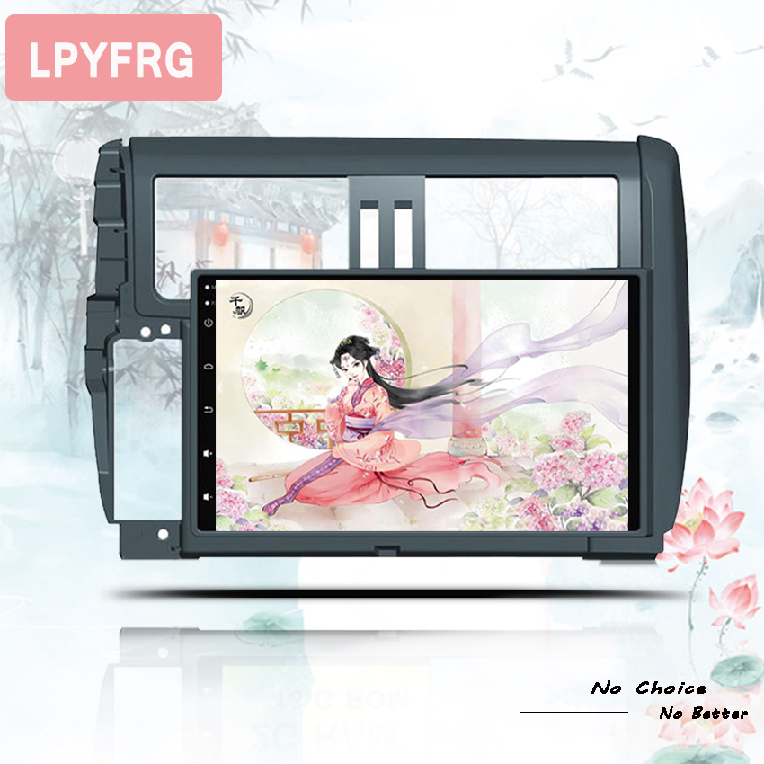 """Excellent 9"""" Android 9.0 Car Stereo radio Audio for Toyota Prado 150 2010 11 2012 2013 1024*600 Octa Core Multimedia 2 din car dvd player 0"""