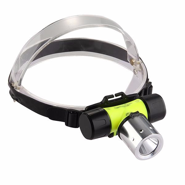 PANYUE 1000 lumen dive light waterproof scuba led head light flashlight diving led headlight headlamp with head strap in Headlamps from Lights Lighting