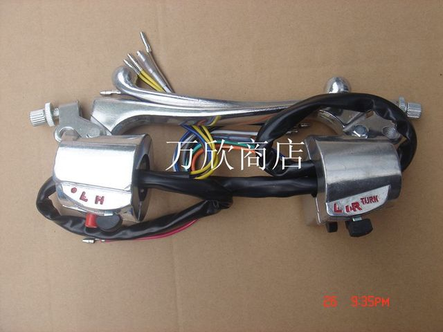 Motorcycle start around JD100 White charged electric start switch assembly CG125 combination switch