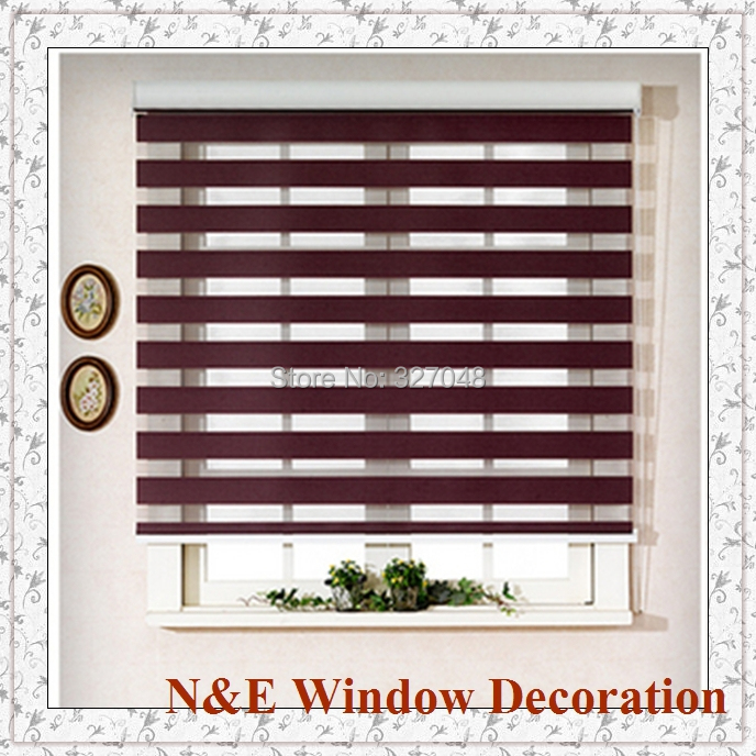 Office window blinds Large Free Shipping 100 Polyester Blackout Office Curtain Window Blinds And Zebra Rooler Blinds For Living Room Free Shipping 100 Polyester Blackout Office Curtain Window Blinds