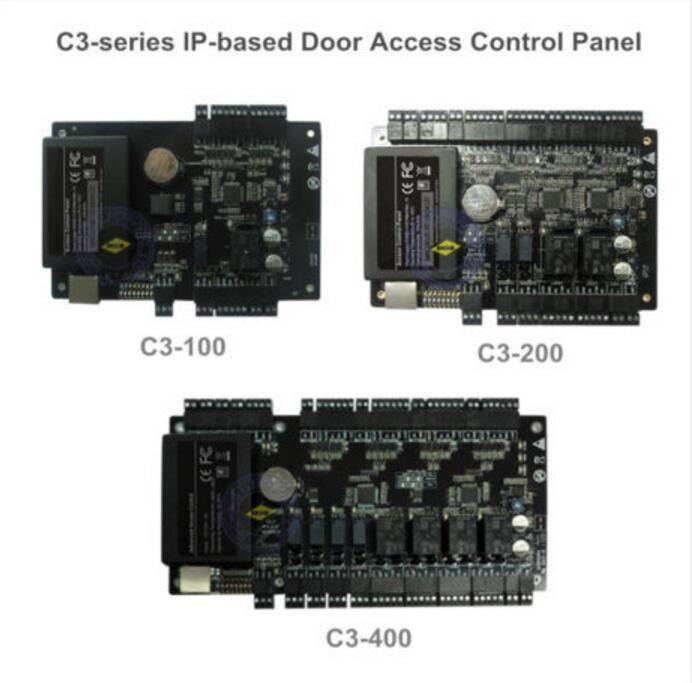 Intelligent C3-100 RS485, TCP/IP one-door two-way access control panel C3-100 access controller wiegand access control board free shipping tcp ip rs485 one door two way rfid access control panel c3 100 access control security system