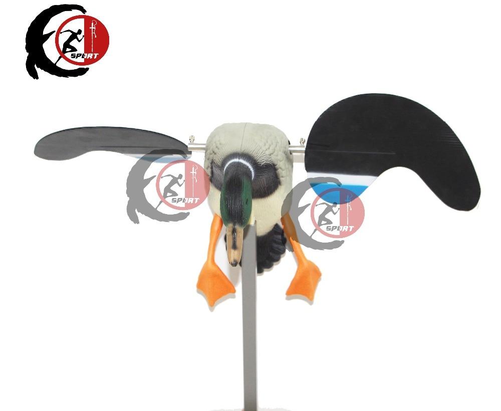 Фабрика сразу продает движение Электрический утка приманки с машущими Магнум, Размер моторизованный манки высокий уровень качества Утиная Охота