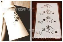 Body Art Sex Waterproof Temporary Tattoos For Men And Women Cute 3d Cartoon Star Design Small Tattoo Sticker HC1132