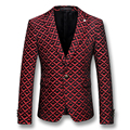 2016 Herren Anzug Veste De Loisir Blazers Jackets Coats Dress Suits Men's Casual Fashion Slim Fit Long Sleeved Blazers Jackets