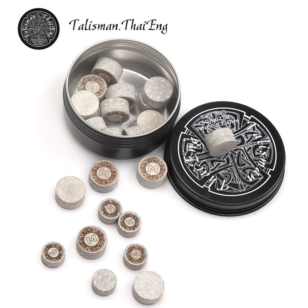 New Original Talisman ThaiEng Tip Japanese A++ Pigskin 11mm 14mm Tip Professional Pool Cue Tip Snooker Tip Billiard Accessories
