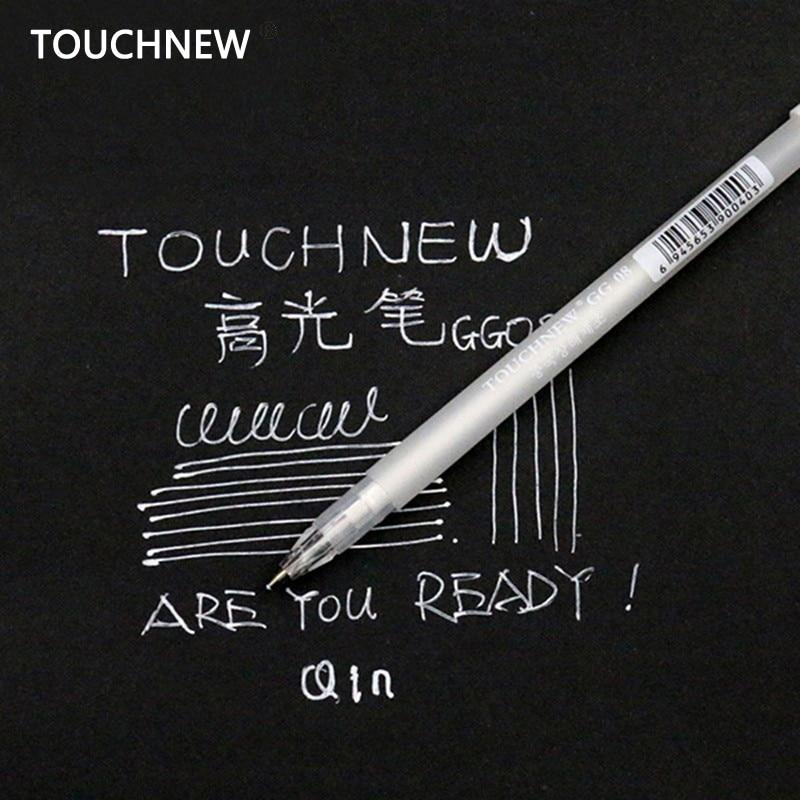Touchnew 20PCS / Set 0.8MM Art Marker White Ink Color Photo Album Markers Gel Pen Unisex Wedding Pen Gift for Kids Art supplies