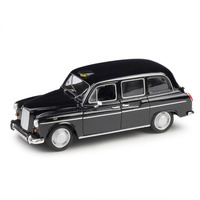 1:24 Static Model Classic Vintage Austin FX4 London Taxi Xk180 Alloy Car Model toys Diecast for Collection Gifts