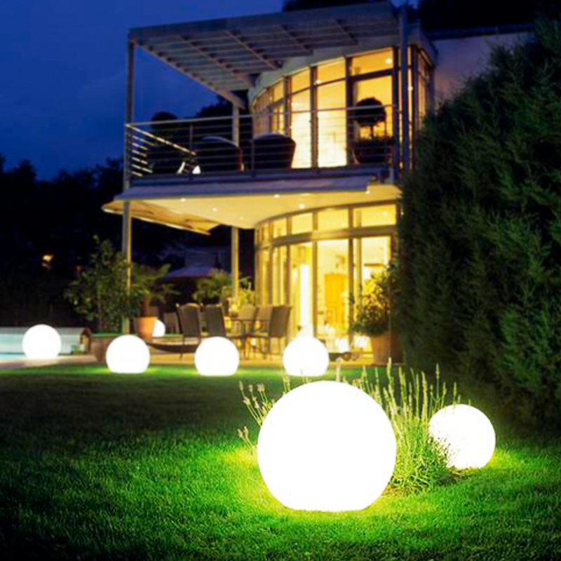 Remote control led garden light usb charge outdoor waterproof decor remote control led garden light usb charge outdoor waterproof decor yard swimming pool landscape lights creative spherical lamp in led lawn lamps from aloadofball Image collections