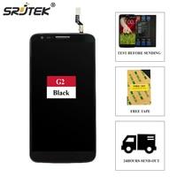Srjtek Lcd For LG G2 D802 Full LCD Display Touch Screen Digitizer Sensor Glass Frame Assembly