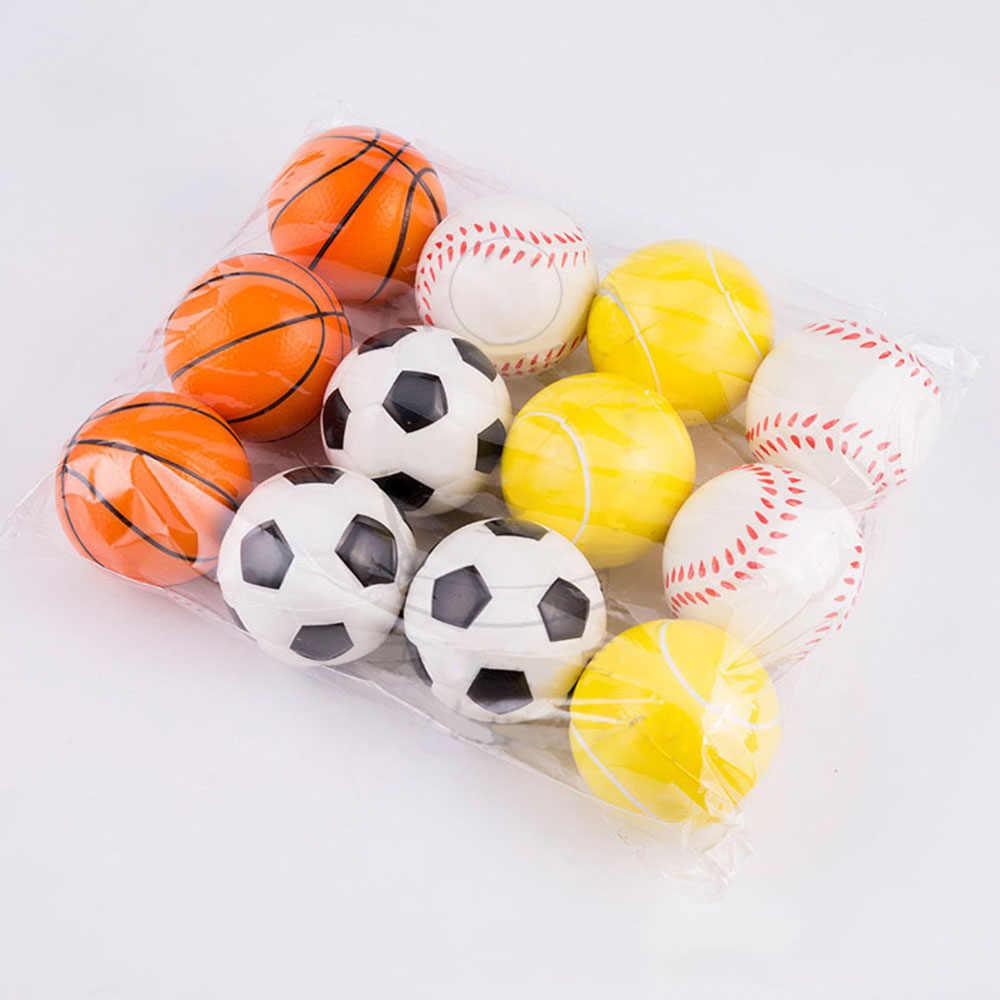 El basketbol beyzbol futbol tenis egzersiz yumuşak elastik Squuze stres rahatlatıcı topu çocuk küçük top oyuncak yetişkin masaj oyuncakları