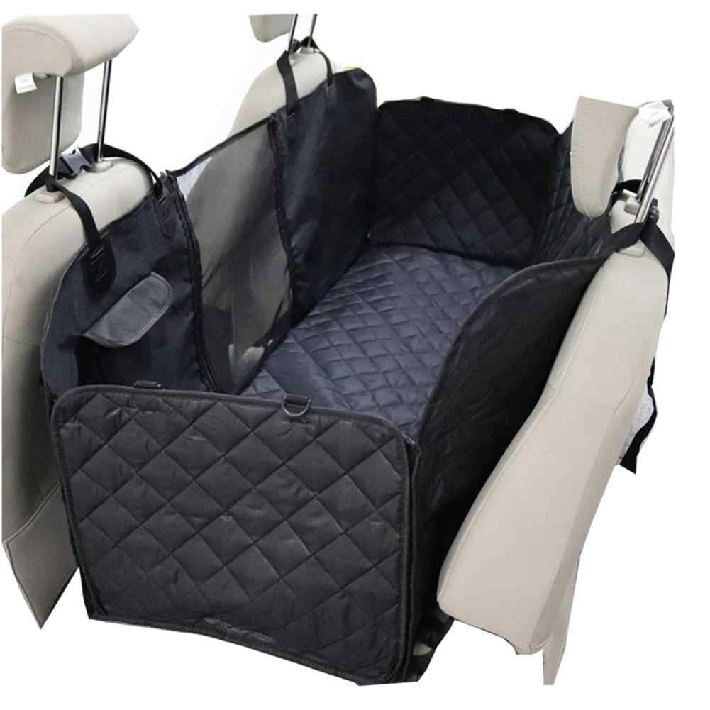 Dog Car Seat Cover View Mesh Waterproof Pet Carrier Car Rear Back Seat Mat Hammock Cushion Protector Outdoor Travel Dog Suppiler