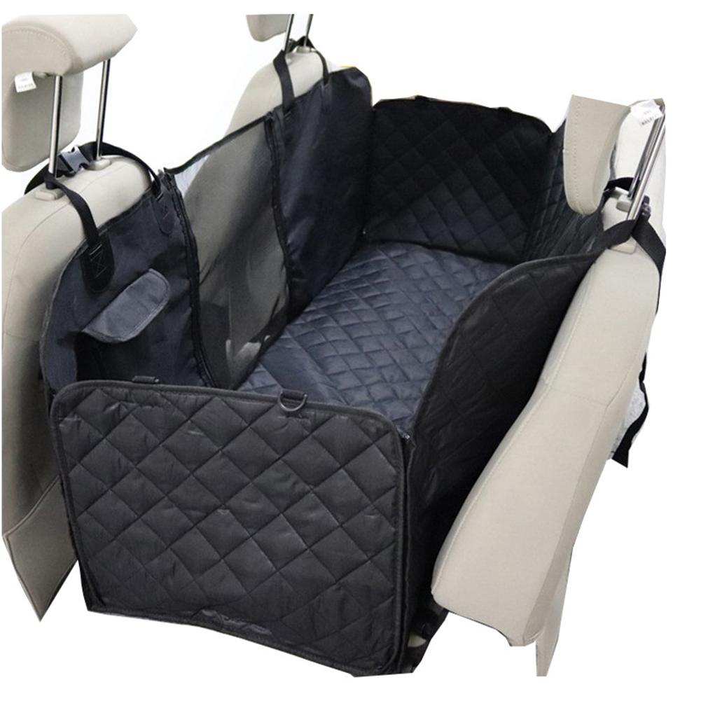 Hond Auto Seat Cover View Mesh Waterdichte Pet Carrier Car Rear Back Seat Mat Hangmat Kussen Protector Outdoor Reizen Hond suppiler