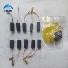 10 Pair  Carbon Brushes  For Electric Motors 5x8x15mm
