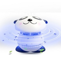 Wtyczka USB Elektroniczny Domowego Panda Anit Komary LED Light Lampa Fly Bug Owad Zabójca Fotokatalizator komara Przepływu Powietrza
