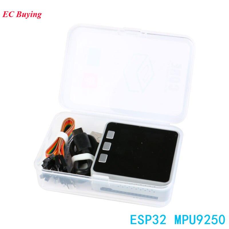 M5Stack Kit ESP32 MPU9250 Développement Conseil GROVE pour Arduino Core LCD Capteur 9DOF Micropython Gris DIY