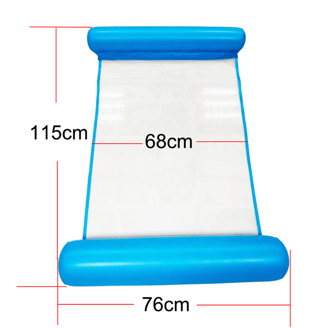 New Inflatable Swimming Pool Floating Bed Hammock Lounge