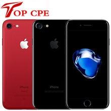 Desbloqueado apple iphone 7 4g lte 32gb/128gb/256gb 12.0mp câmera quad-core impressão digital 12mp 1960ma iphone7 usado telefone celular