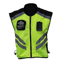 Sports Motorcycle Reflective Vest High Visibility Fluorescen