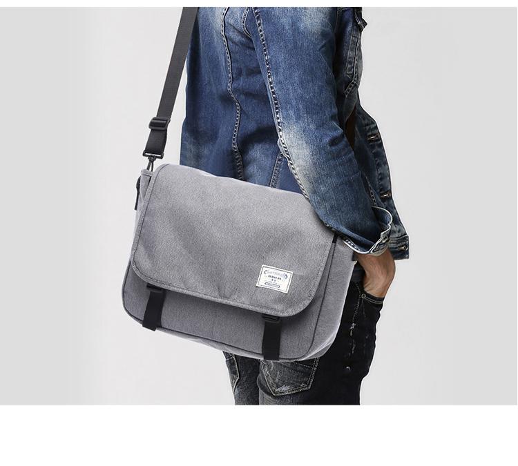 Lan-store Premium Quality Male Bag--Classic Messenger Bag Men Denim ... 3e62b35a10e29