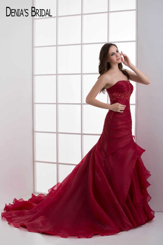 Nett Rotes Kleid Für Partei Bilder - Brautkleider Ideen - cashingy.info