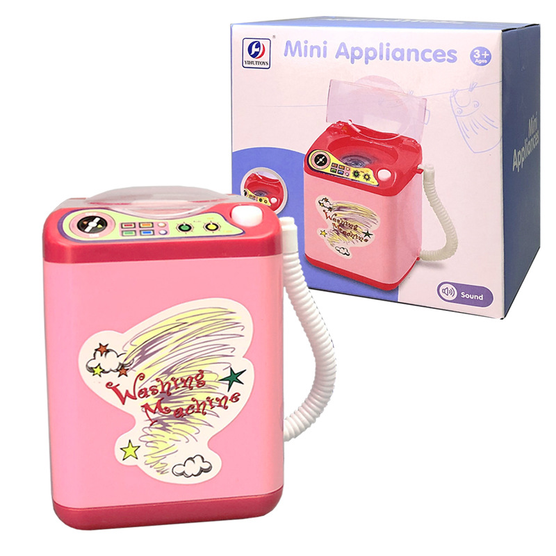 Drop Ship Girls Lovely Washing Machine Children House Game Play Pretend Role Play Educational Baby Kids Toy Children's Day Gift