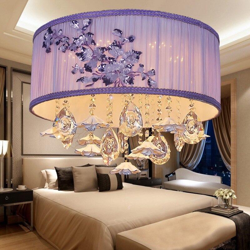 new model modern fashion fabric crystal led 36w ceiling ... on New Model Bedroom  id=86981