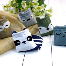 5 pairs cotton cute cartoon soft floor boys baby socks kids children thick baby sock new hot sale