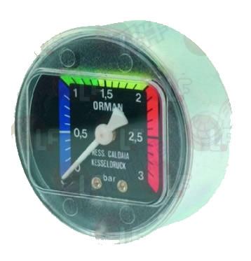 ASTORIA CMA BOILER PRESSURE GAUGE 62 mm 0 3 bar цена 2017