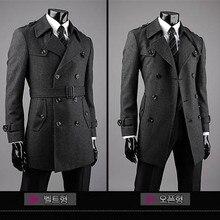 Новое поступление, мужское шерстяное пальто, верхняя одежда, очень большой Тренч, тучная мужская куртка размера плюс s m l xl XXL. 3XL. 4XL. 5XL. 6XL. 7XL. 8XL. 9XL