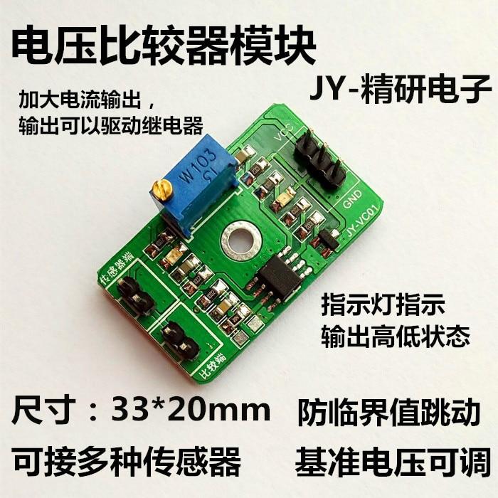 KüHn Die Spannung Komparator Modul Analog Komparator Steuert Die Hohe Leistung Led Anzeigt Lm393.