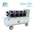 Manka Importa 3000 W 120L Tanque compresor de Aire Dental Sin Aceite a prueba de Herrumbre cámara/Tank/Silencioso/descarga de la bomba de aire/Dental Clínica Médica