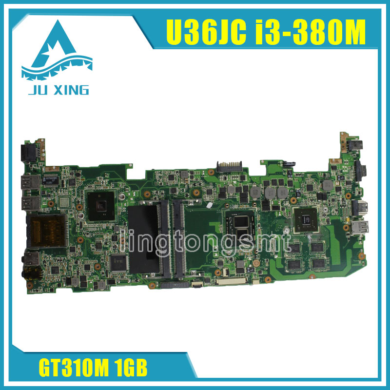 For ASUS U36JC motherboard with i3-380M/390M processor GT310M with 1GB DDR3 VRAM 100% tested ok for asus u36jc motherboard with i3 380m 390m processor gt310m with 1gb ddr3 vram 100