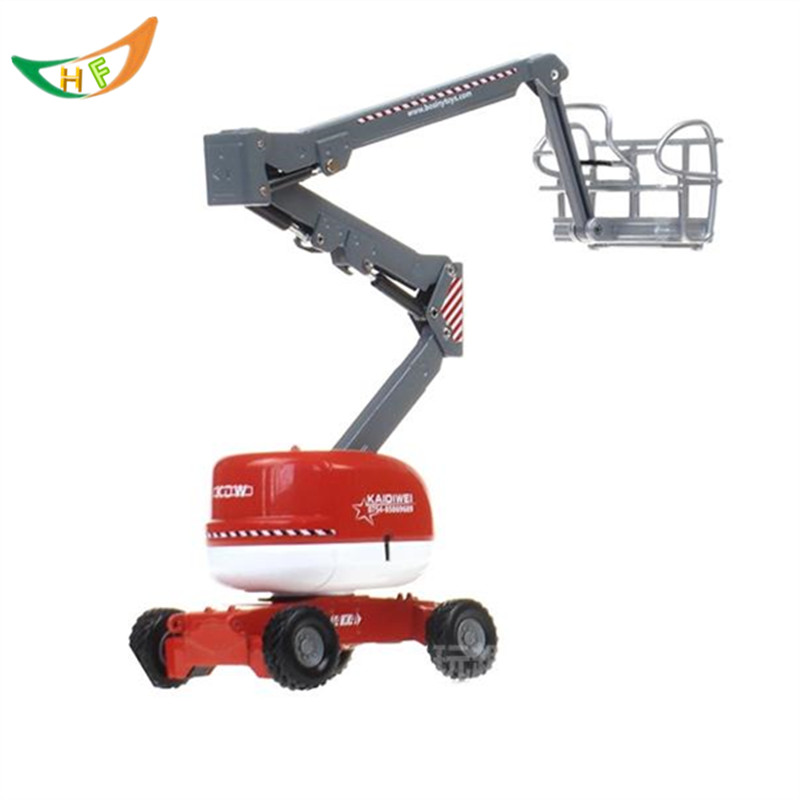 hot kids toys Engineering overhead working truck/car elevator arm  metal toy  car model kids Christmas gift