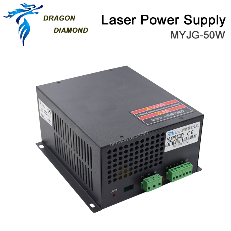 DRAGON DIAMOND 50W CO2 Laser Power Supply For CO2 Laser Engraving Cutting Machine