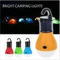 Acampamento ao ar livre tenda lâmpada luz tocha lanterna de suspensão plana led modo de luz ajustável lanterna aaa bateria de plástico abs