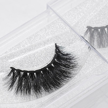 Mink Lashes Fake 3D Cotton Stalk Mink Eyelashes Natural Soft False Eyelashes Handmade Eye Lash Extension цены