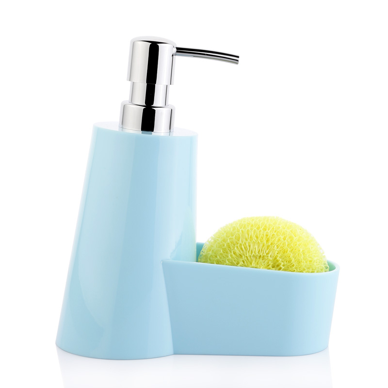 Empty shampoo bottles Cosmetic lotion bottle Cleaning detergent bottle wash cloth storage clean ball grooved water kitchen blue многоразовый косметический флакон lotion storage bottle 89 w15040802 3 6