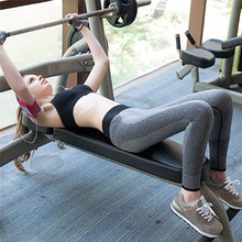 1PCS Women Pants 2017 New Women Fitness Leggings High Waist Patchwork Skinny Push Up Cropped Pants