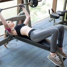 1PCS Women Pants 2017 New Women Fitness Leggings High Waist Patchwork Skinny Push Up Cropped Pants High Quality Mar 24