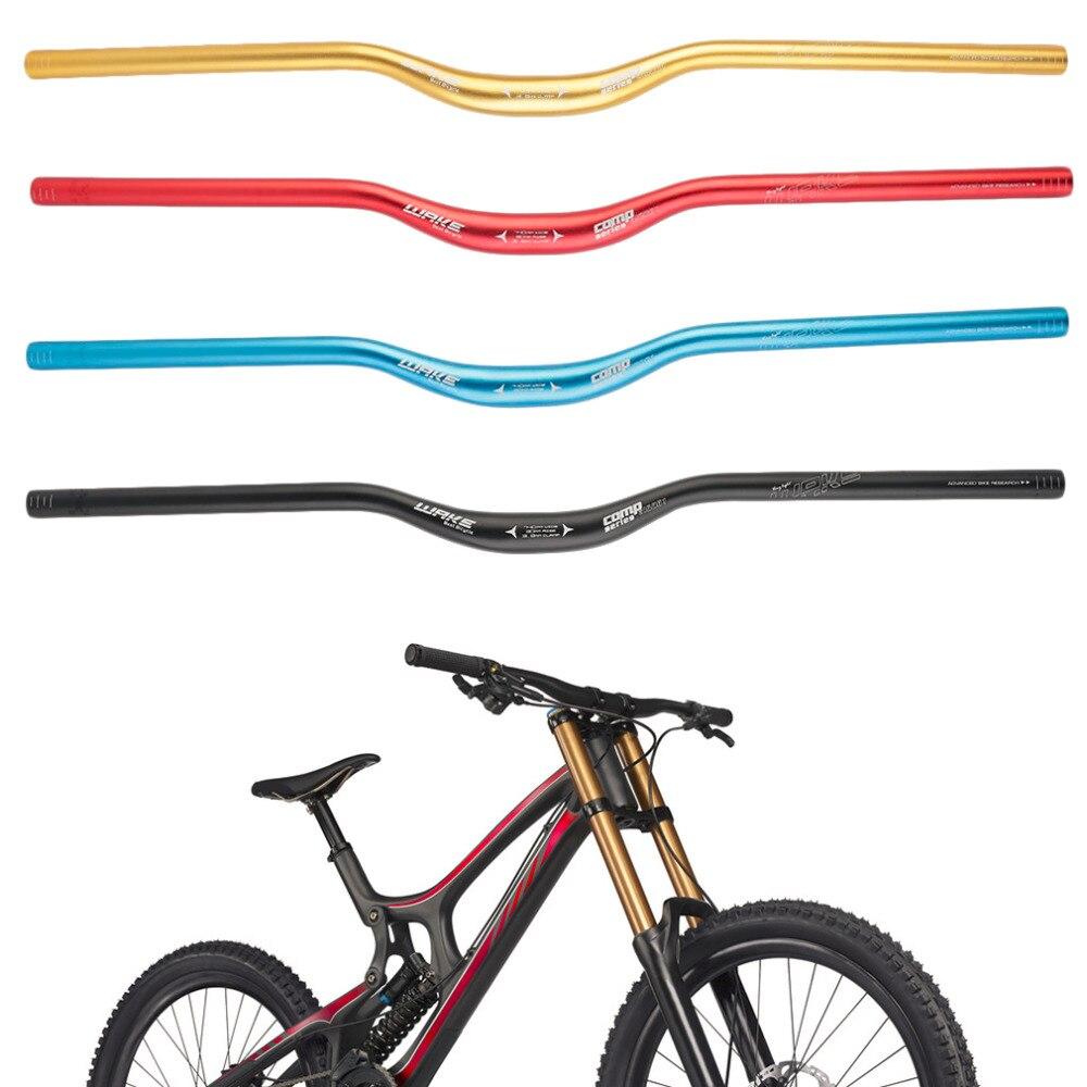 Nuevo 31,8x740mm MTB bicicleta de montaña aleación de aluminio Riser manillar gota