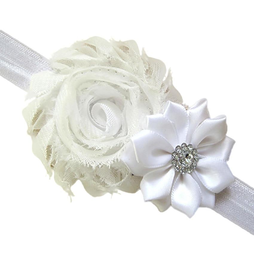 New Soft Cute 5pcs Lovely Hair Band Baby Girls Headbands Chiffon Hair Flower Item Type Head High Quality Gift Drop Shipping