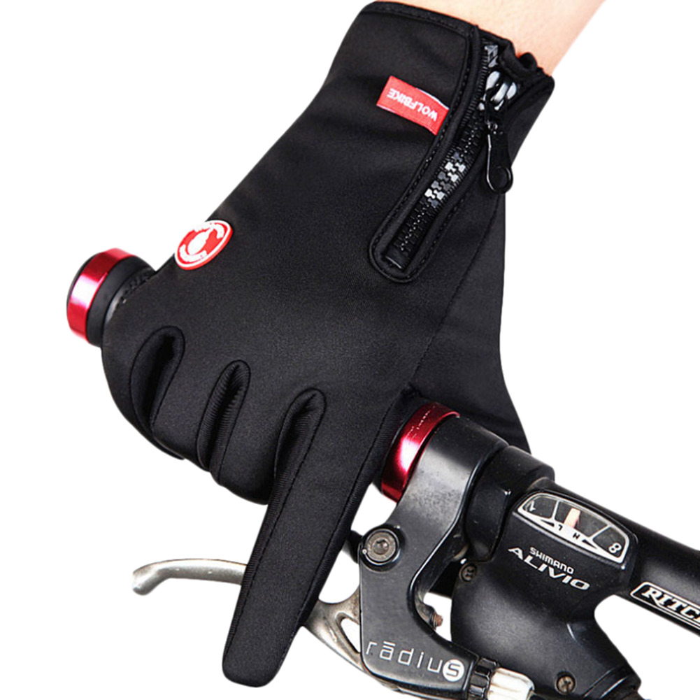 Full Finger Touch Screen Gloves Outdoor Sports Windstopper Gloves Windproof Bicycle Cycling Hiking Military Motorcycle Riding