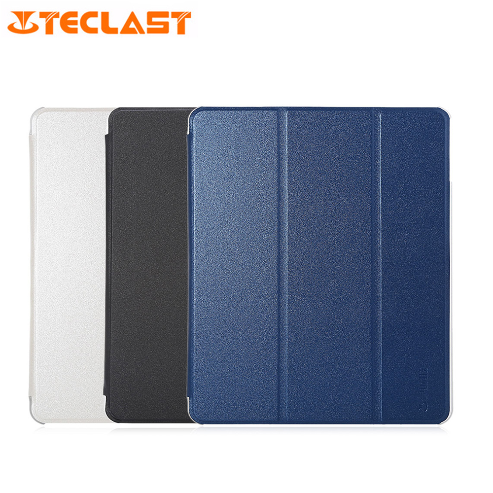 Original PU Case High Quality Full Body Folding Stand Design For Teclast X98 Plus II/P10HD Tablet PC PU Leather Protective Case