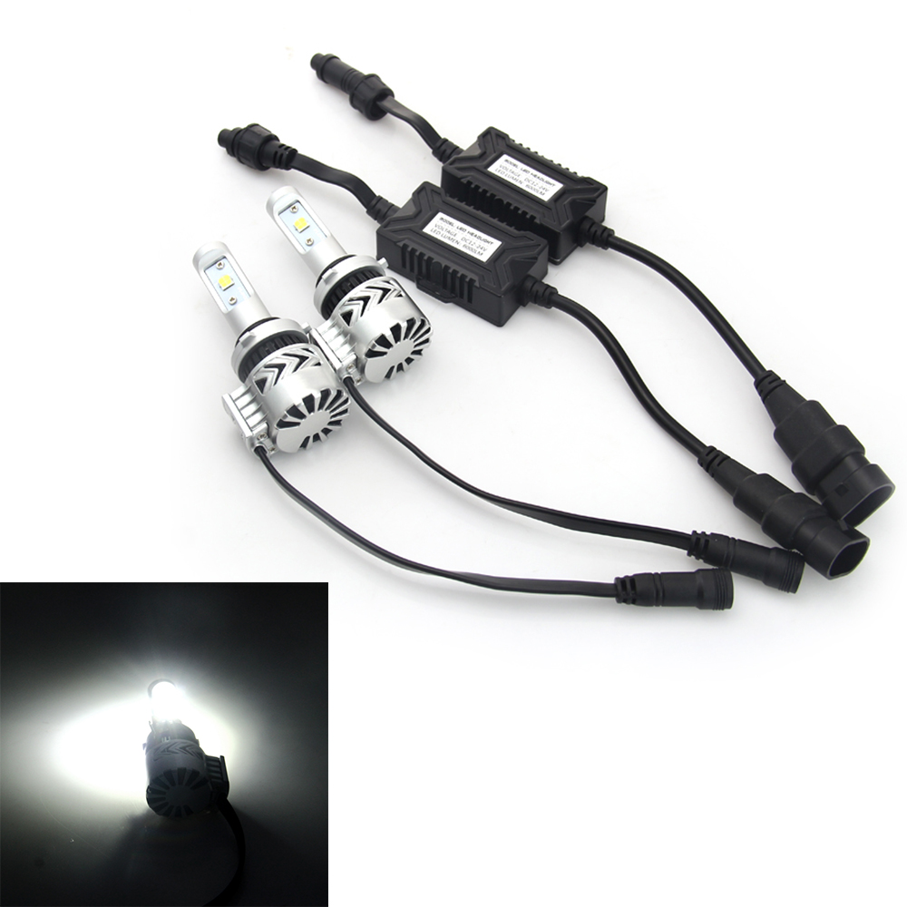 72W H4 12000LM Auto LED Headlamp Conversation Kit White Beam Car Headlamp Bulbs High Power 12V-24V #6767 12v led light auto headlamp h1 h3 h7 9005 9004 9007 h4 h15 car led headlight bulb 30w high single dual beam white light
