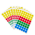 New Cute 10 sheets (540pcs) Colourful Round Smile Face Stickers Decal Kids Children Teacher Praise Merit office