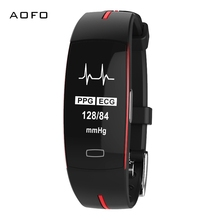 AOFO Multi Sports Mode Heart Rate Monitoring Call Reminder  Wrist Band IP67 Waterproof Pedometer Smartwatch for Android iOS bluetooth 4 0 call message reminder sports pedometer anti lost heart rate monitor steel strap smartwatch for android ios
