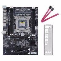 Профессиональный X79 материнская плата для настольного компьютера Восьмиядерный процессор сервера для LGA 2011 DDR3 1866/1600/1333 USB 3,0